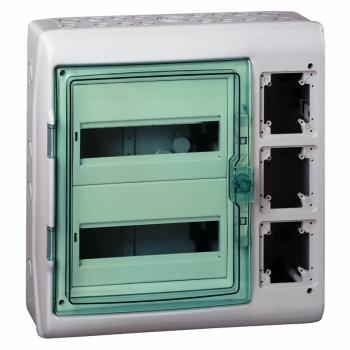 Kaedra - za modularni uređaj sa interfejsom - 2 x 12 modula - 2 priključna bloka