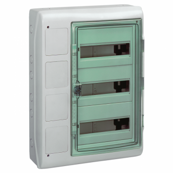 Kaedra - za modularni uređaj sa interfejsom - 3 x 12 modula - 2 priključna bloka