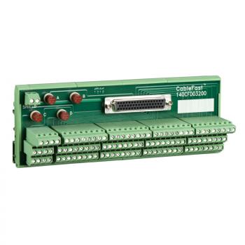 CableFast priključni blok sa osiguračima - 1 ženski konektor SUB-D50