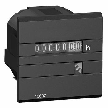 brojač radnih sati - mehanički prikaz 7 cifara - 24V AC 50Hz