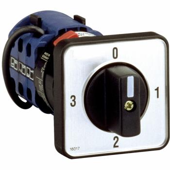 ampermetarski grebenasti prekidač CMA - 3L-N - 90° - 20 A - za Ø 22.3 mm