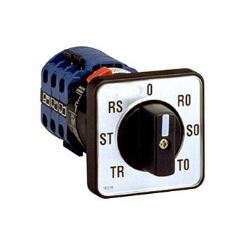 voltmetarski grebenasti prekidač CMV - 3L i 3L-N - 45° - za Ø 22.3 mm
