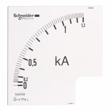 ampermetarska skala PowerLogic - 1.3 In - prenosni odnos 1000/5 A