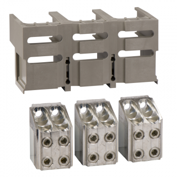 3 priključka - < 1250A - za 4 x 240 mm² - 1 poklopac konektora