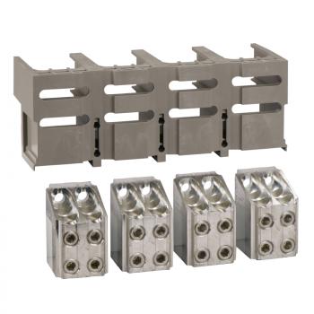 4 priključka - < 1250A - za 4 x 240 mm² - 1 poklopac konektora