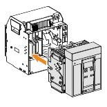 rastavljač Masterpact NT08HA - 800 A - 690 V - 4P - izvlačivi