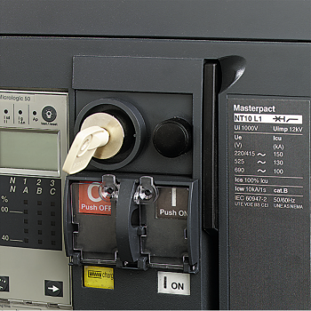 BPFE taster - elektronsko zatvaranje - 1 NO - za Masterpact NT