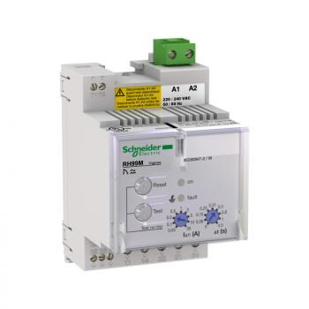 relej diferenc.zaštite RH99M sa automatskim resetom-0.03..30 A - 0..4.5 s - 24 V