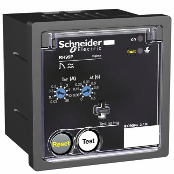 relej diferenc. zaštite RH99P sa ručnim reset. - 0.03..30 A - 0..4.5 s - 24 V