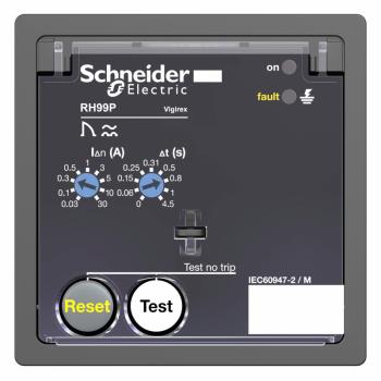 relej diferenc.zaštite RH99P sa automatskim resetom-0.03..30 A - 0..4.5 s -240 V