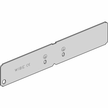 Wibe - bočni spojni element W49/60 - pregalvanizovani čelik beli