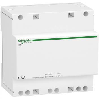 modularni sigurnosni transformator iTR - 230 V 50..60 Hz - izlaz 12..24 V - 16VA