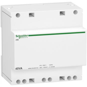 modularni sigurnosni transformator iTR - 230 V 50..60 Hz -izlaz 12..24 V - 40 VA