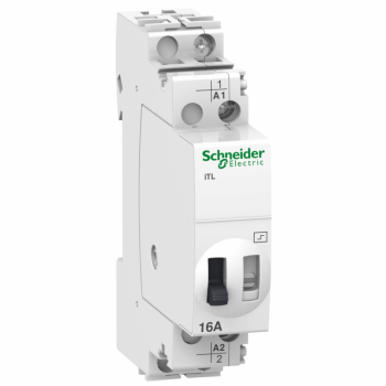 impulsni relej iTL - 1P - 1NO - 16A - kalem 12 VDC - 24 VAC 50/60Hz