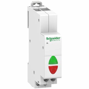 Acti9 iIL dvostruka indikatorska lampica - zelena/crvena - 12-48 VAC/DC