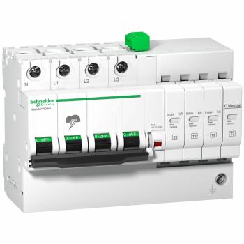 iQuick PRD8r modularni odvodnik prenapona- 3P + N - 350V - sa daljinskom signal.