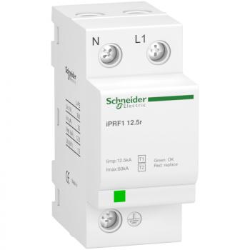 iPRF1 12.5r modularni odvodnik prenapona - 1P + N - 350V - sa daljinskom signal.