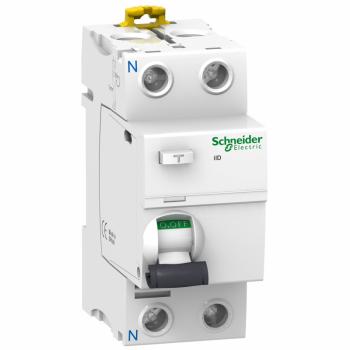 iID - diferencijalni zaštitni prekidač - 2P - 63A - 100mA - AC tip