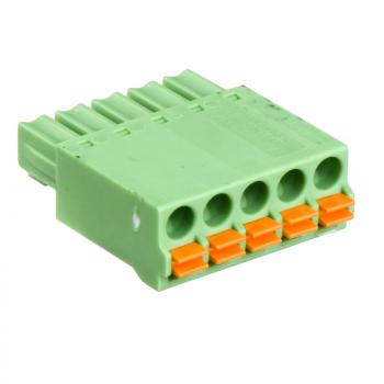 set od 12 opružnih 5-pinskih konektora Ti24