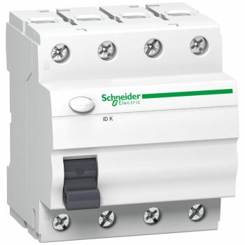 Acti 9 ID K - diferencijalni zaštitni prekidač - 4P - 63A - 300mA - tip A