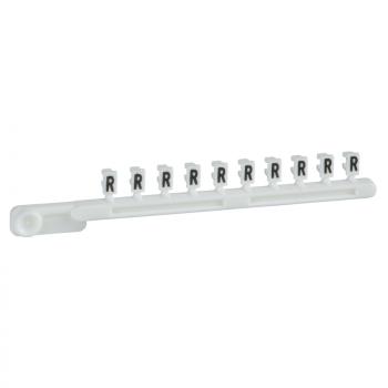 bele odvojive oznake - 25 traka od 10 - znak R