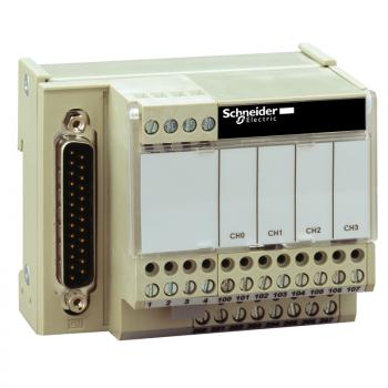 I/O baza ABE7 - za distribuciju 4 analogna izlazna kanala