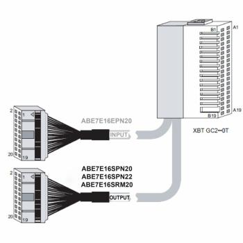 I/O baza ABE7 - za Twido proširenje - 16 izlaza