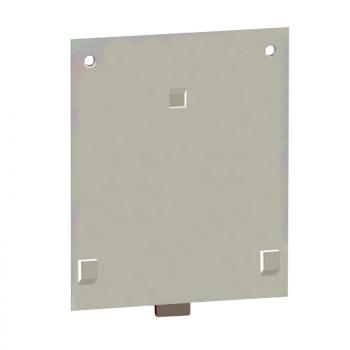montažna ploča na Omega DIN šinu - za naponski transformator