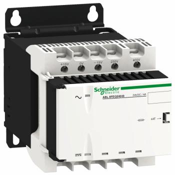 filtrirano napajanje - monofazno ili dvofazno - 400 V AC - 24 V - 0.5 A