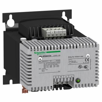 filtrirano napajanje - monofazno ili dvofazno - 400 V AC - 24 V - 15 A