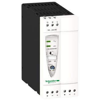 regulisano napajanje SMPS - monofazno ili dvofazno - 100..240 V AC - 24 V - 5 A