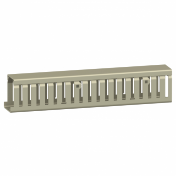 kablovska kanalica - 50 x 75 mm - bez poklopca - siva