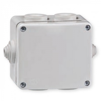 Kutija razvodna sa 6 uvoda za na zid 80x70 IP 55 500V - metalna
