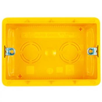 Montažna kutija za 3 elementa (dubina 65mm)