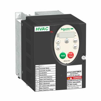 frekventni regulator ATV212 - 0.75kW - 1hp - 480V - trofazno - EMC - IP21