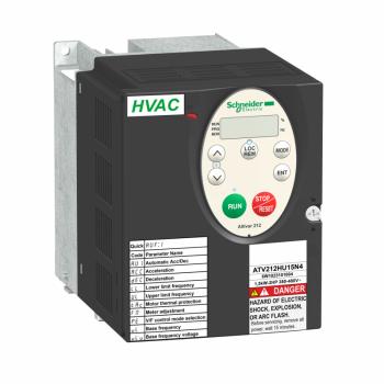 frekventni regulator ATV212 - 1.5kW - 2hp - 480V - trofazno - EMC - IP21