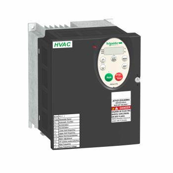 frekventni regulator ATV212 - 5.5kW - 7.5hp - 480V - trofazno - EMC - IP21