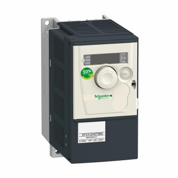 frekventni regulator ATV312 - 0.55kW - 1.4kVA - 46W - 200..240 V- monofazni