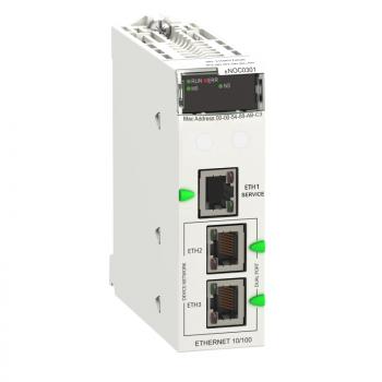 Ethernet modul M580 - Ethernet 3 porta