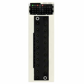 digitalni izlazni modul M340 - 16 izlaza - tranzistorski -24 V DC pozitivna log.