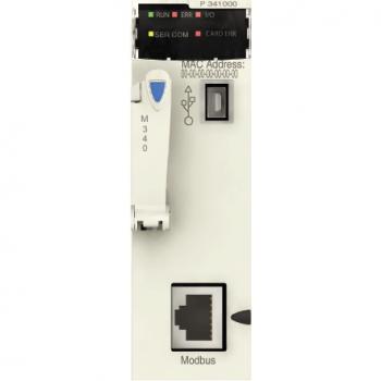 procesor M340 - maksimalno 512 digitalnih + 128 analognih I/O - Modbus