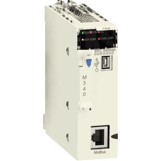 procesor M340 - maksimalno 1024 digitalnih + 256 analogni I/O - Modbus