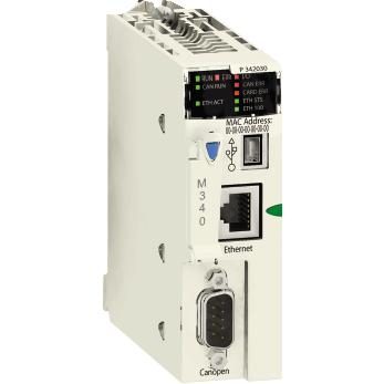procesor M340 - maksimalno 1024 digitalnih + 256 analogni I/O - CANOpen