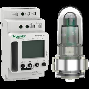 Acti 9 IC100kp+ 1C (1 - 99000 lux) SMART programabilni svetlosni prekidač