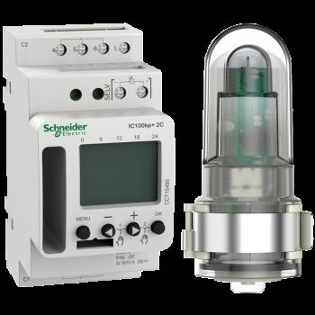 Acti 9 IC100kp+ 2C (1 - 99000 lux) SMART programabilni svetlosni prekidač