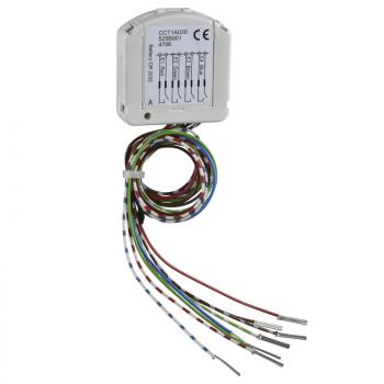 Odace/Unica Wireless - univerzalni predajnik - 4 kanala - beli