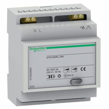STD - DIN - daljinski upravljan dimer - 1000 W