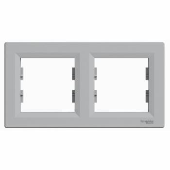 Asfora - horizontalni ram za 2 elementa, aluminijum