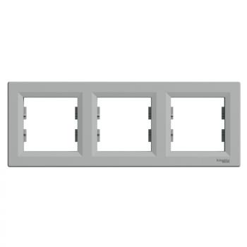 Asfora - horizontalni ram za 3 elementa, aluminijum