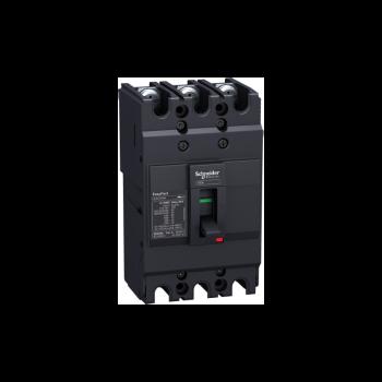 prekidač Easypact EZC100N - TMD - 75 A - 3P 3d